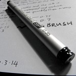 Copic Multiliner SP drawing pen capped
