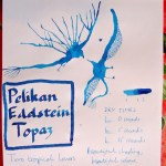 Pelikan Edelstein Topaz ink review Inkling doodle