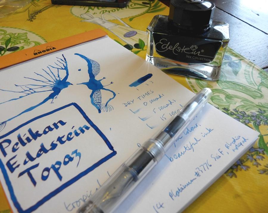 Pelikan Edelstein Topaz ink review