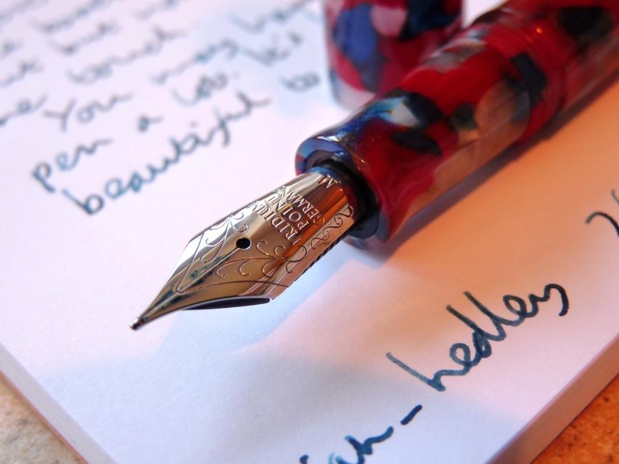 Twiss Patriotic Acrylic fountain pen nib