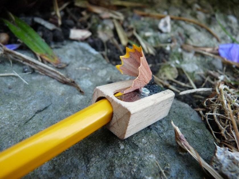 Caran d'Ache Technograph 777 pencil sharpening
