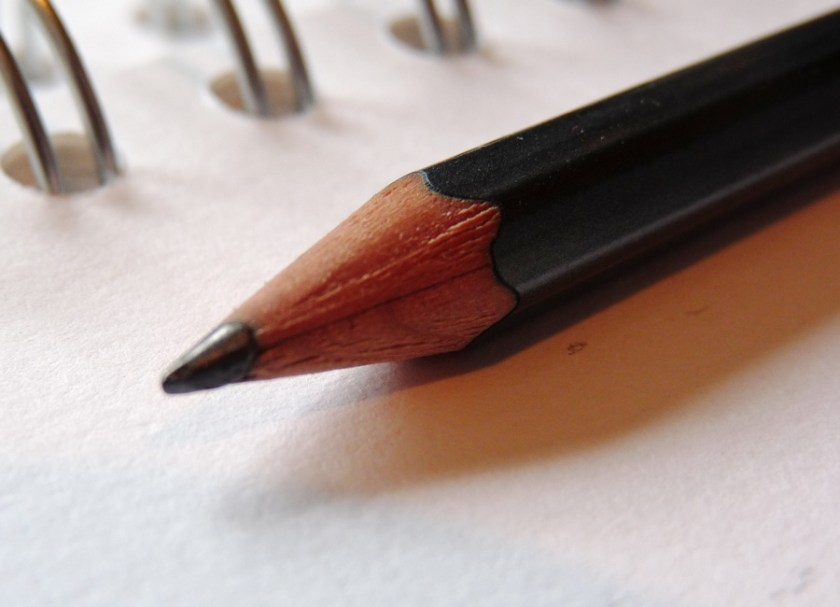 Palomino Blackwing 602 pencil business end