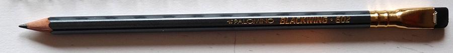 Palomino Blackwing 602 pencil full length