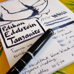 Pelikan Edelstein Tanzanite ink review