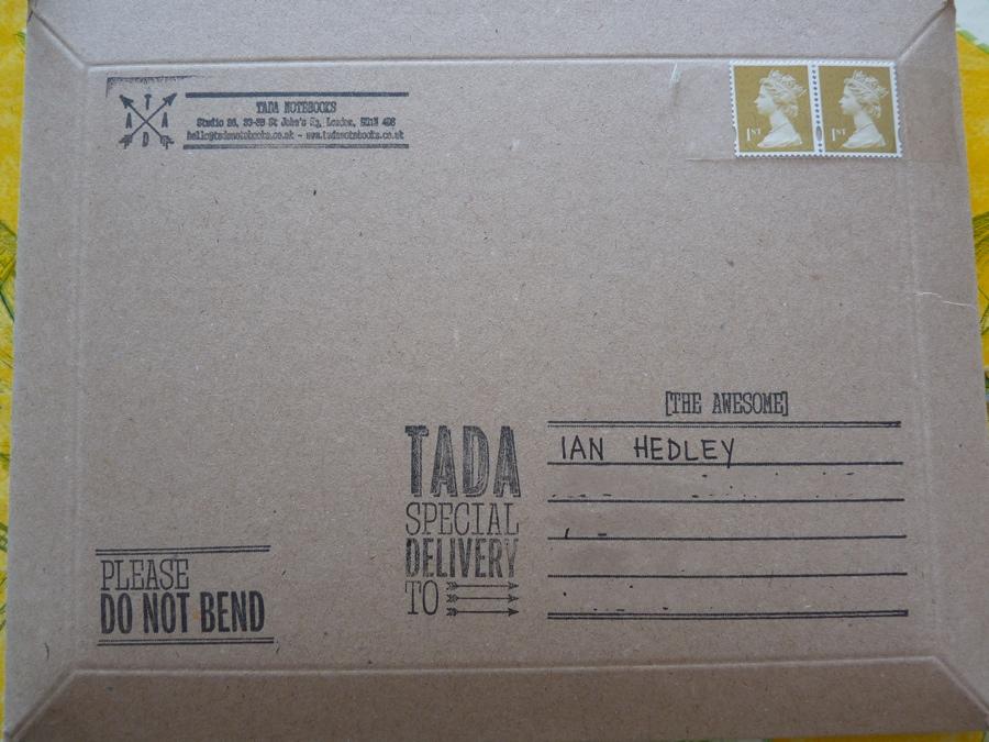 Tada A5 notebook envelope