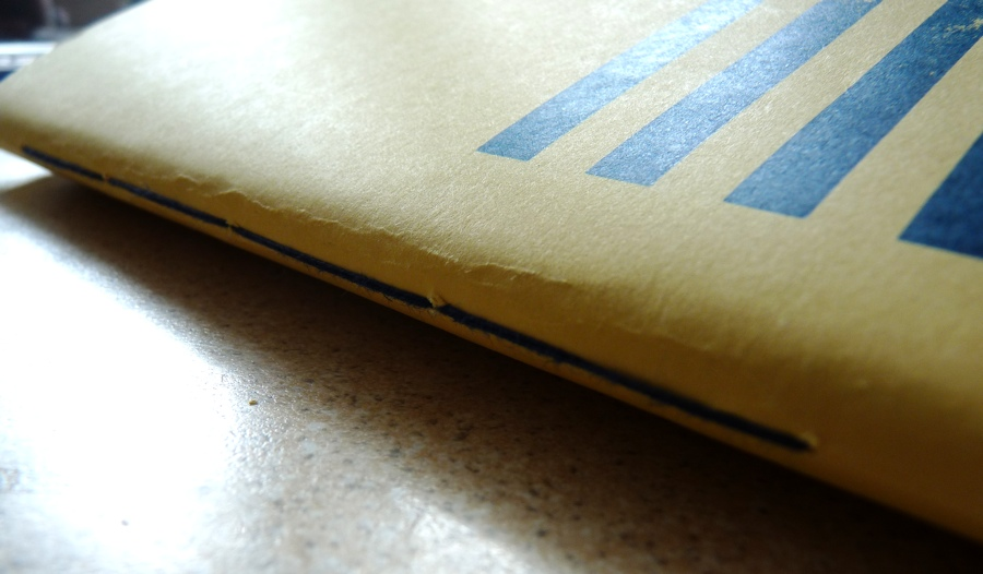 Tada A5 notebook stitching outside