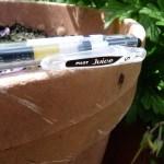 Pilot Juice gel ink pen clip