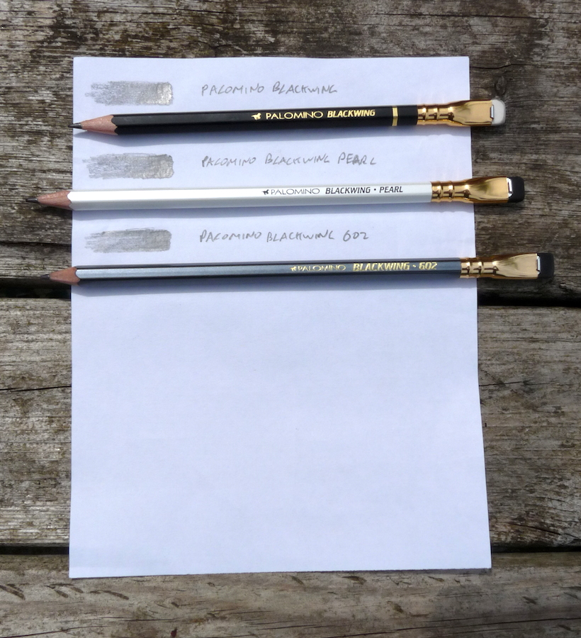 Blackwing pencils side by side