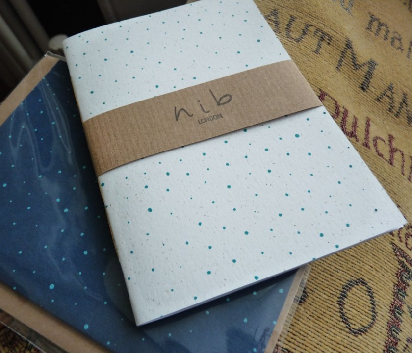 Nib London notebook packaging