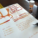 Private Reserve Shoreline Gold ink review
