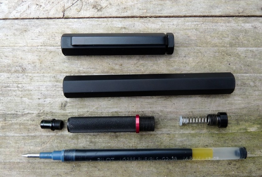 Apollo Technical Pen deconstructed