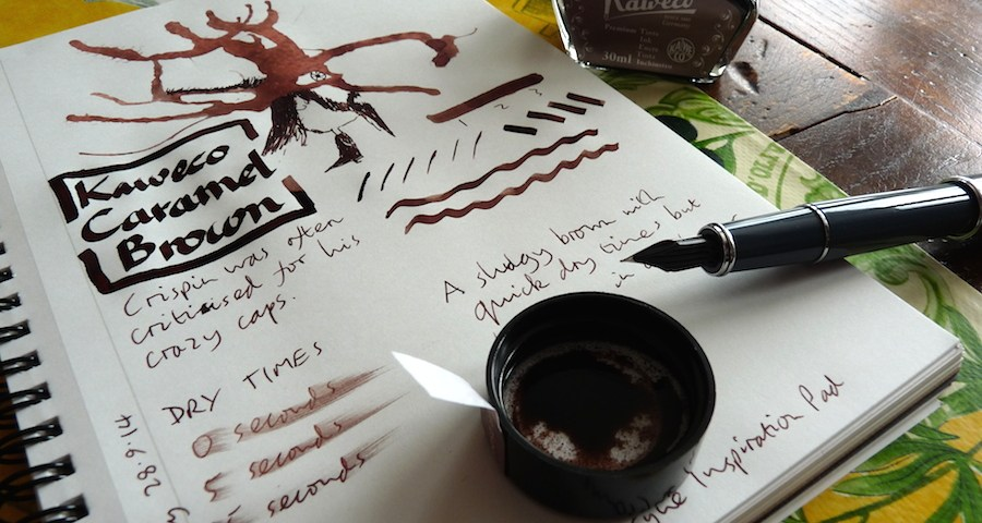 Kaweco Caramel Brown ink review