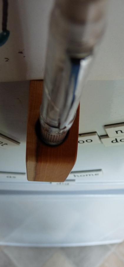 Pen Friend pen holder pen in from above