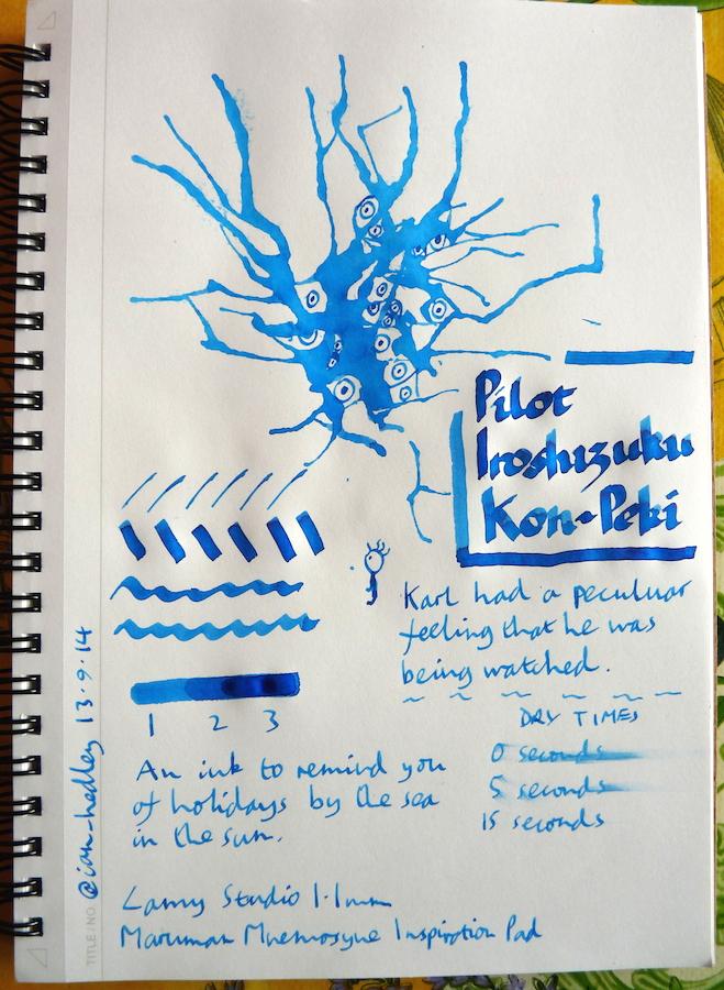 https://i2.wp.com/penpaperpencil.net/wp-content/uploads/2014/09/Pilot-Iroshizuku-Kon-Peki-Inkling-doodle.jpg?resize=659%2C900