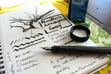 Noodlers Lexington Gray ink review