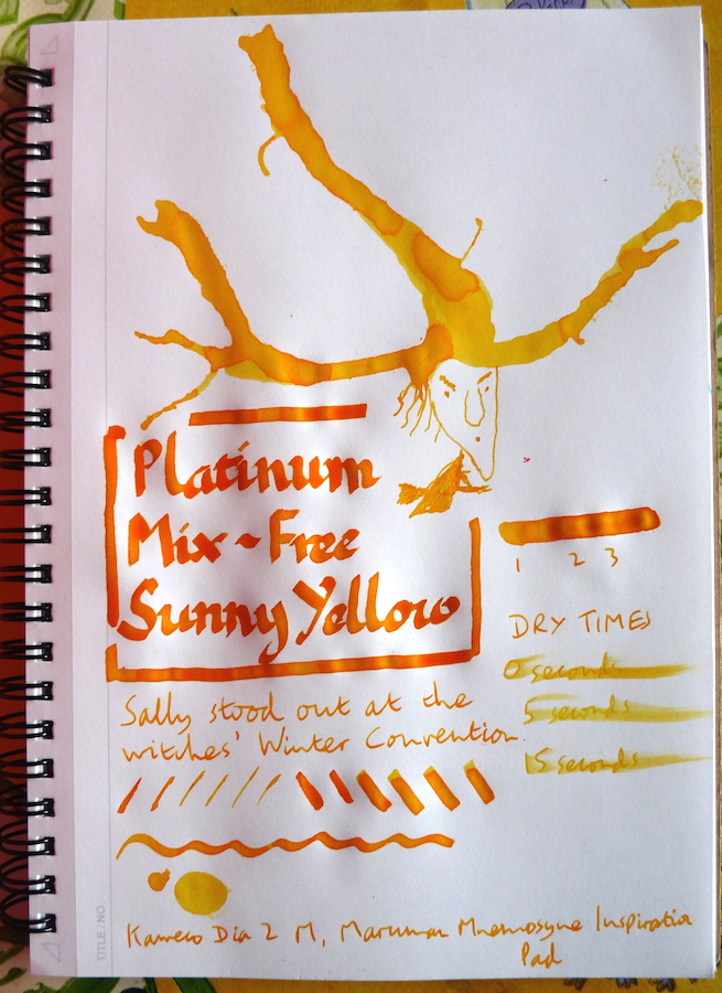 Platinum Mix-Free Sunny Yellow inkling