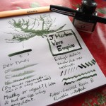 J. Herbin Vert Empire Ink Review