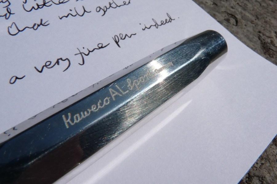Kaweco AL-Sport fountain pen branding