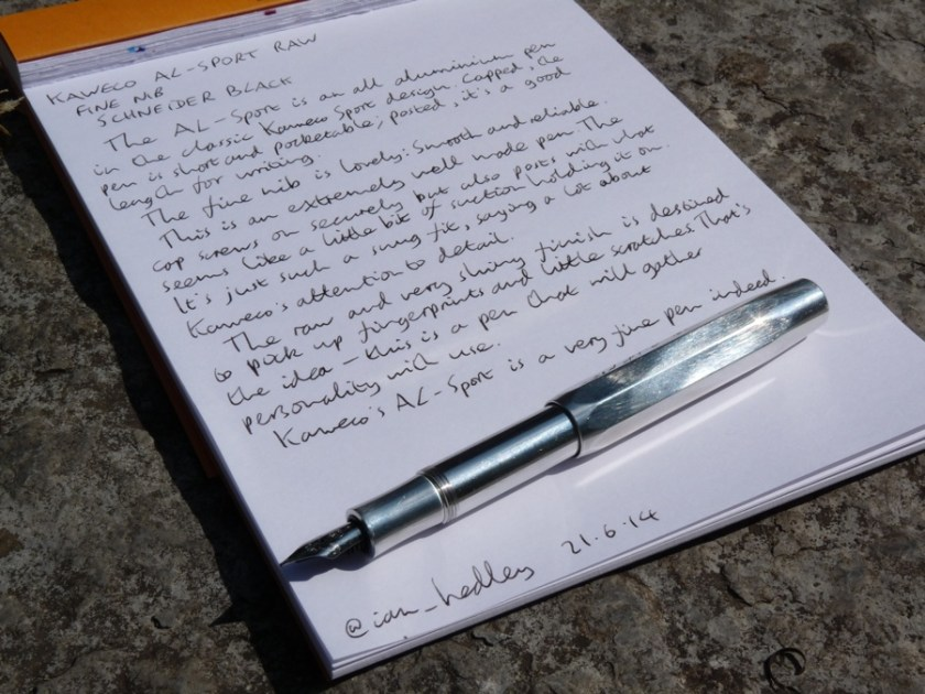 Kaweco AL-Sport fountain pen review