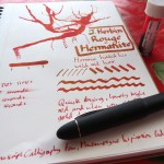 J. Herbin Rouge Hematite 1670 Ink Review