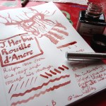 J Herbin Rouille dAncre ink review