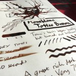 Montblanc Toffee Brown Ink Review