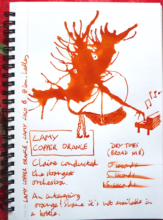 Lamy Copper Orange Inkling