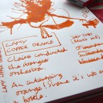 Lamy Copper Orange Ink Review