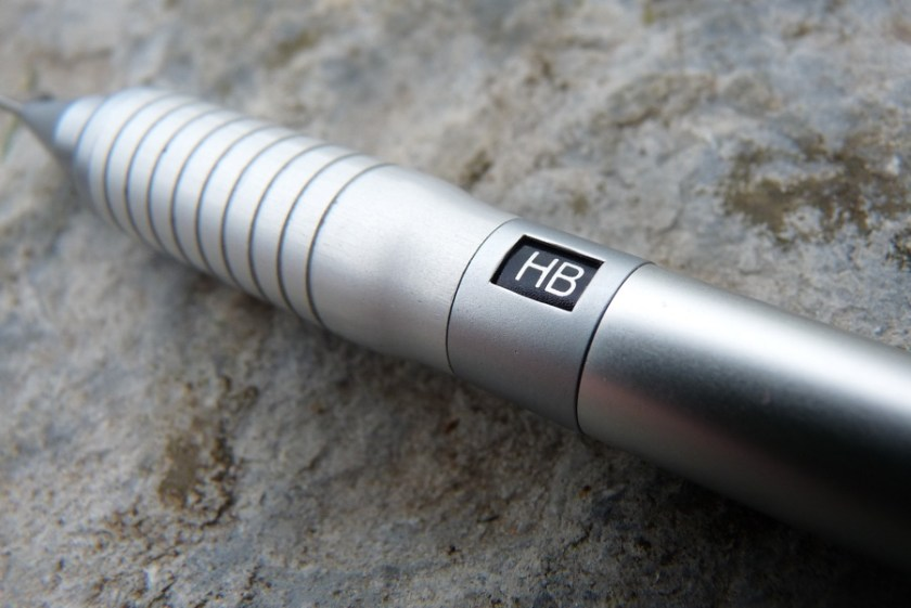 Platinum Pro-Gear pencil grip and hardness indicator