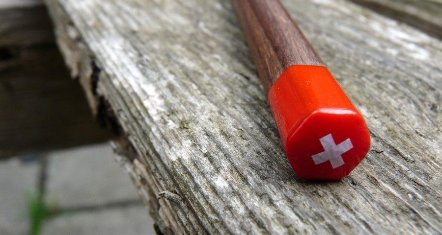 Caran dAche Swiss Wood blunt end