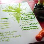 J. Herbin Vert Pre Ink Review
