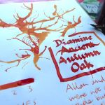Diamine Autumn Oak Ink Review