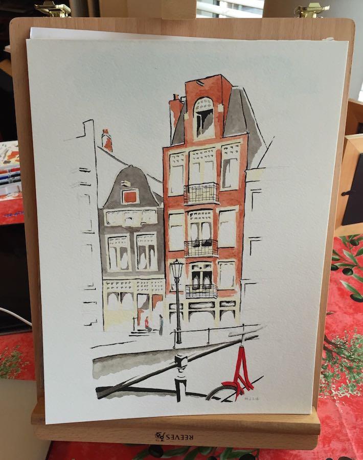 Red Bike, Amsterdam