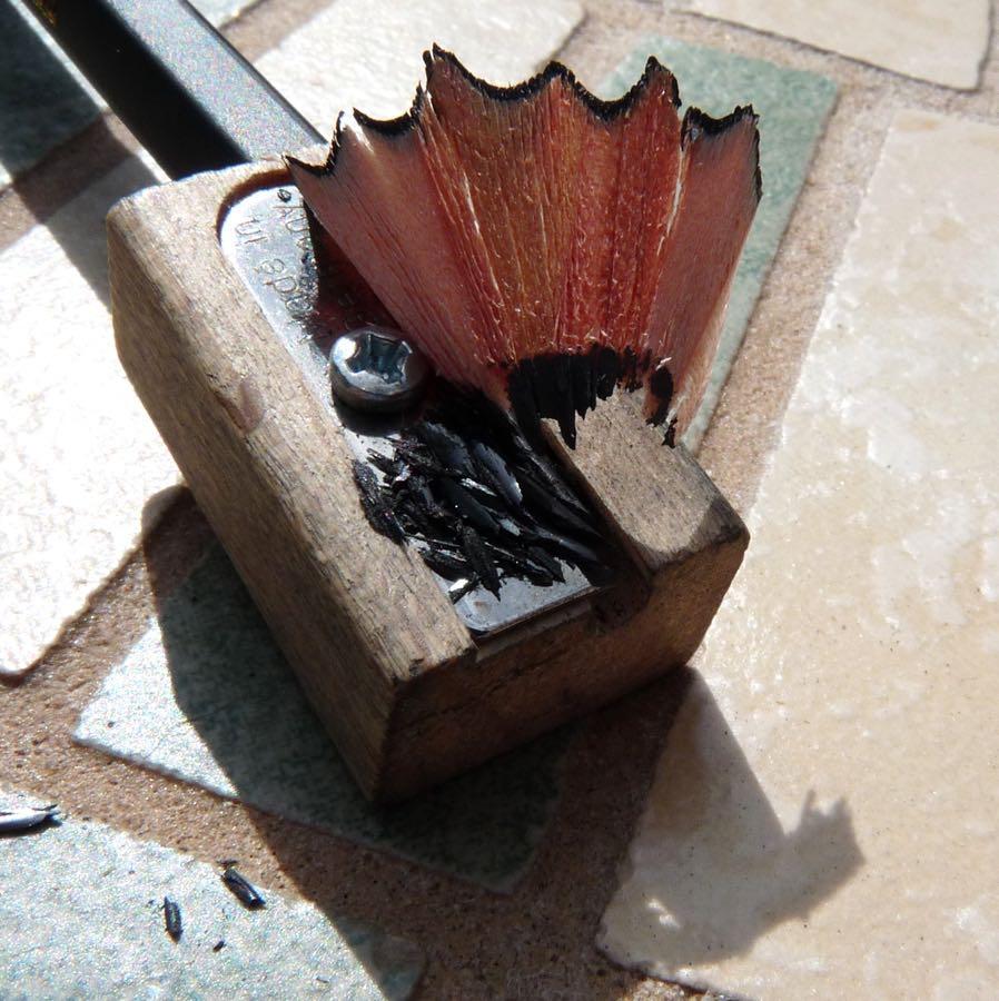 Caran dAche Technalo sharpening