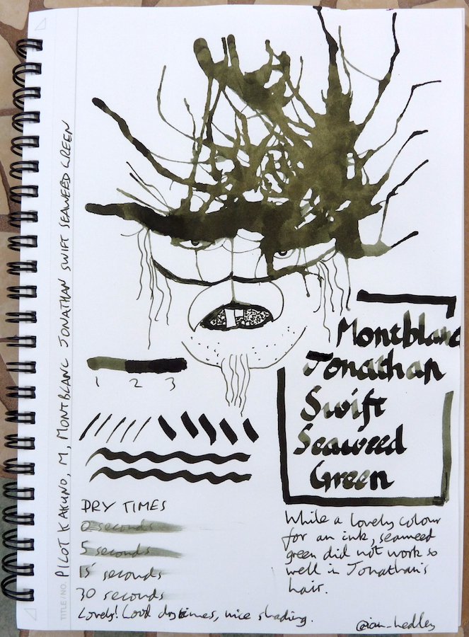 Montblanc Jonathan Swift Seaweed Green Inkling