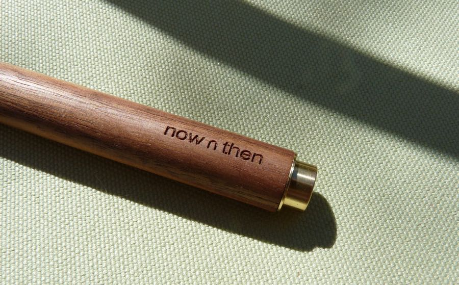 Now n Then Retro-Essential Pen branding