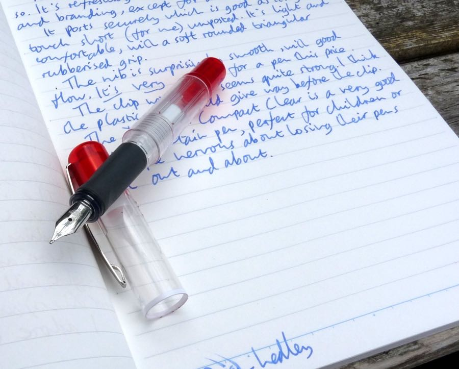Dex Compact Clear Fountain Pen review