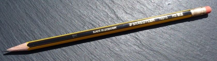 Staedtler Noris pencil pretty branding