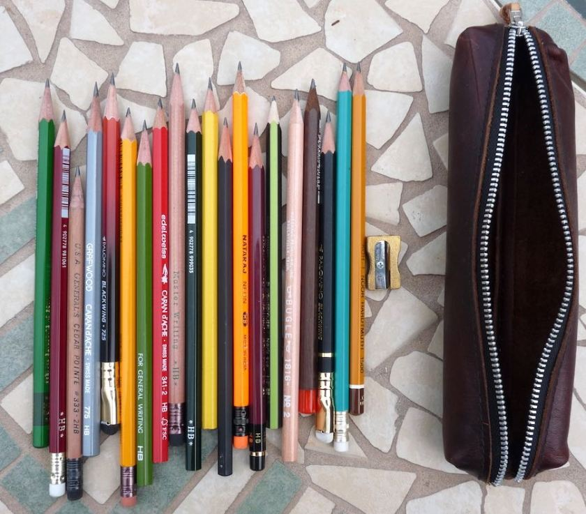 Week of pencils lineup