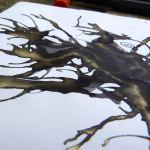 J Herbin Stormy Grey gold closeup