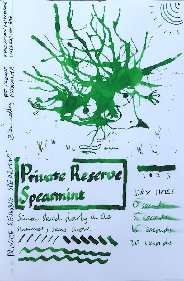 Private Reserve Spearmint Inkling