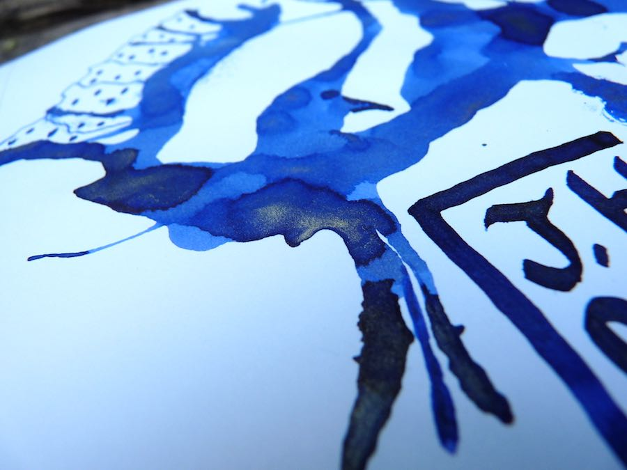 J Herbin 1670 Bleu Ocean shimmer