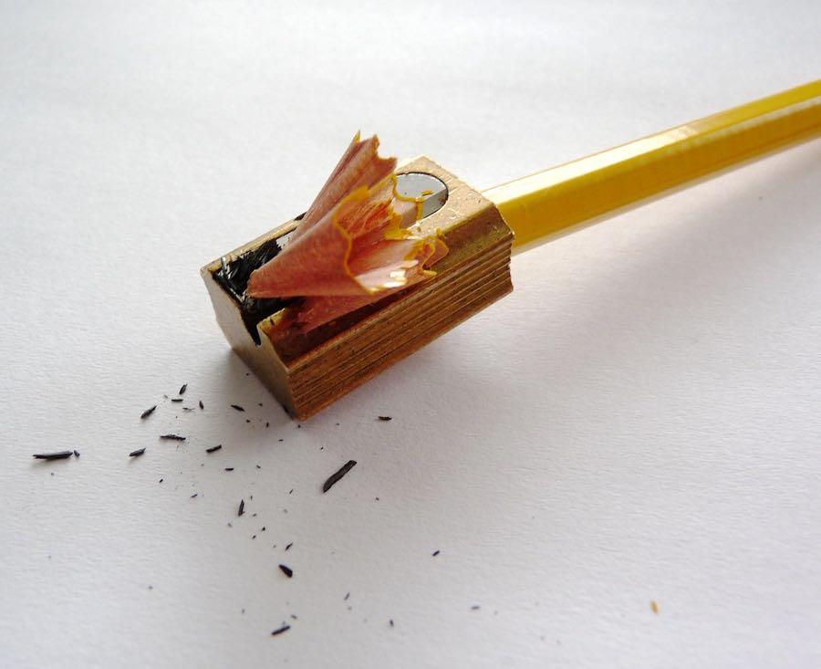 Generals Calendar Pencil sharpening