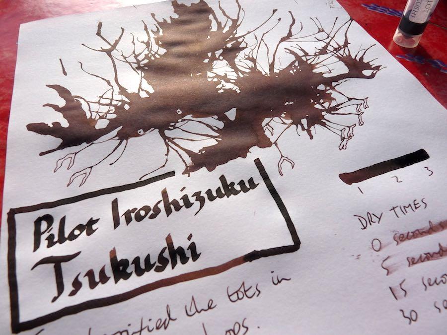 Pilot Iroshizuku Tsukushi ink review