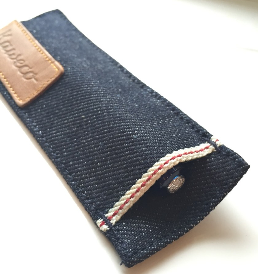 Kaweco Denim Pouch snug pen