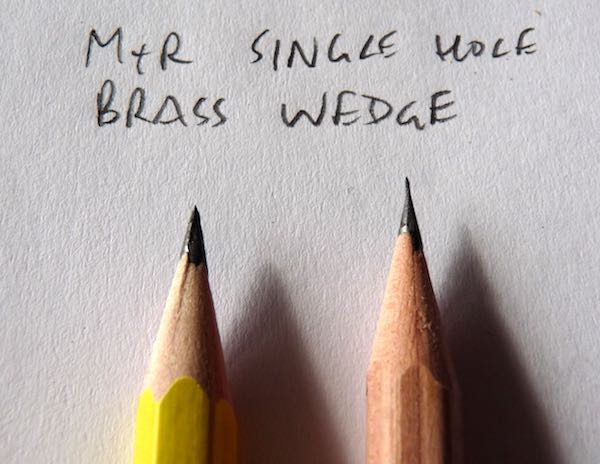 MR Single hole brass points