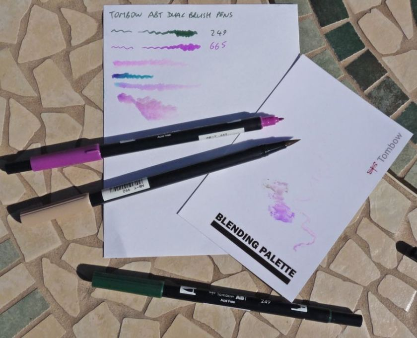 Tombow ABT Dual Brush Pen review