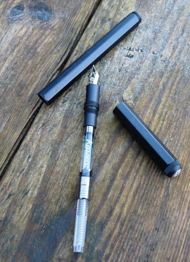Kaweco AL Special fountain pen undone