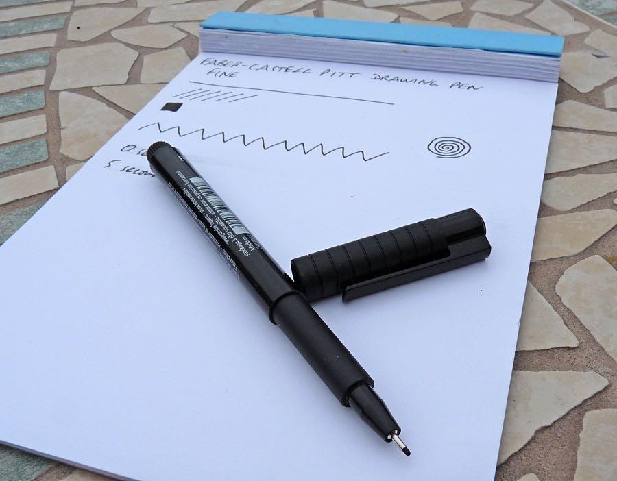 Faber-Castell Pitt Drawing Pen Review – Pens! Paper! Pencils!