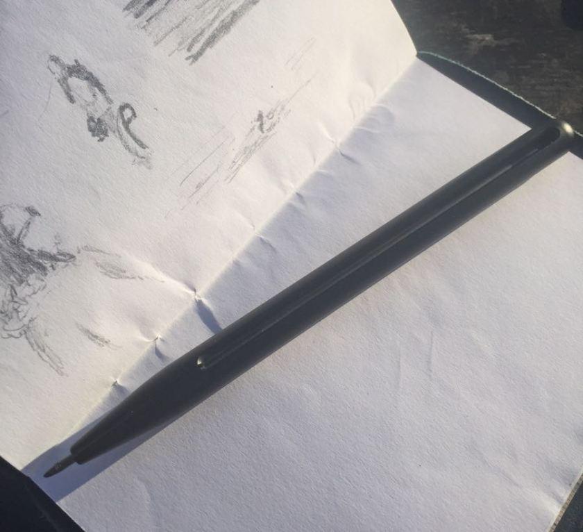 Penxo Pencil ready to draw